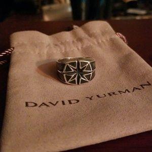 DAVID YURMAN Men's North Star Signet Ring